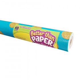 Teal Confetti Better Than Paper Bulletin Board Roll, Pack of 4