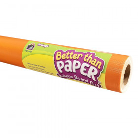 Orange Better Than Paper Bulletin Board Roll, Pack of 4