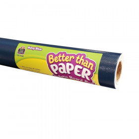 Navy Blue Better Than Paper Bulletin Board Roll, Pack of 4