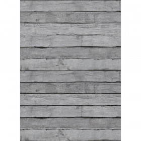 Better Than Paper Bulletin Board Roll, 4' x 12', Gray Wood, 4 Rolls