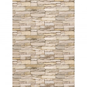 Better Than Paper Bulletin Board Roll, 4' x 12', Stacked Stone, 4 Rolls