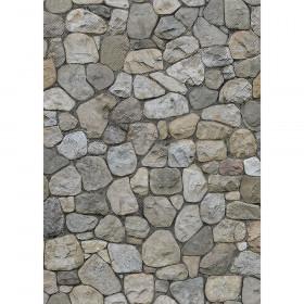 Better Than Paper Bulletin Board Roll, 4' x 12', Rock Wall, 4 Rolls