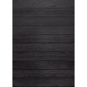 Better Than Paper Bulletin Board Roll, 4' x 12', Black Wood, 4 Rolls