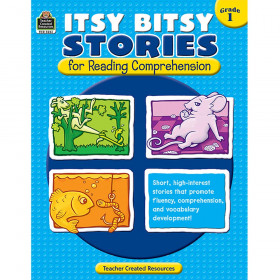 Itsy Bitsy Stories for Reading Comprehension (Gr. 1)