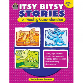 Itsy Bitsy Stories for Reading Comprehension (Gr. K)