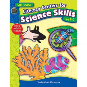 Full-Color Literacy Centers for Science Skills (PreK?1)
