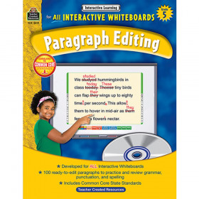Interactive Learning: Paragraph Editing (Gr. 5)