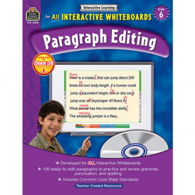 Interactive Learning: Paragraph Editing (Gr. 6)