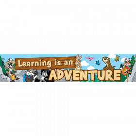 Ranger Rick? Learning is an Adventure Banner
