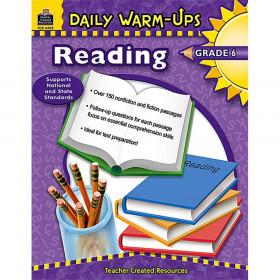 Daily Warm-Ups: Reading Book, Grade 6