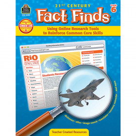 21st Century Fact Finds: Using Online Research Tools to Reinforce Common Core Skills (Gr. 6)