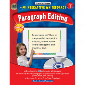 Interactive Learning: Paragraph Editing (Gr. 1)