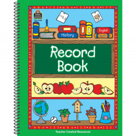 Record Book Green Border