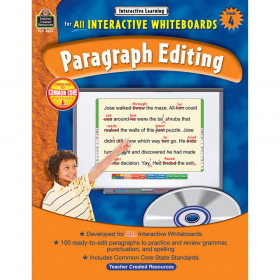 Interactive Learning: Paragraph Editing (Gr. 4)