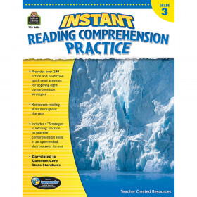 Instant Reading Comprehension Practice (Gr. 3)