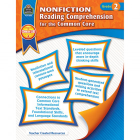 Nonfiction Reading Comprehension for the Common Core (Gr. 2)