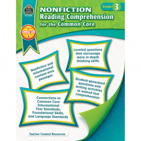 Nonfiction Reading Comprehension for the Common Core (Gr. 3)