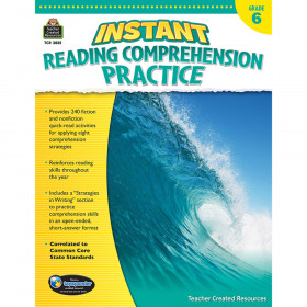 Instant Reading Comprehension Practice (Gr. 6)