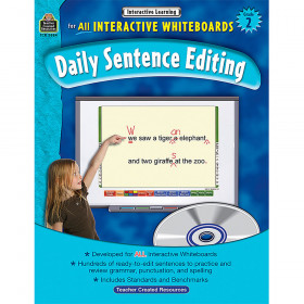 Interactive Learning: Daily Sentence Editing (Gr. 2)
