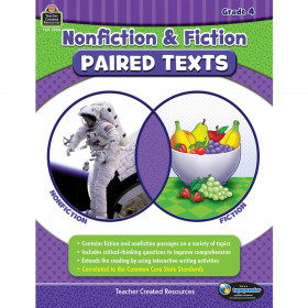 Nonfiction and Fiction Paired Texts, Grade 4