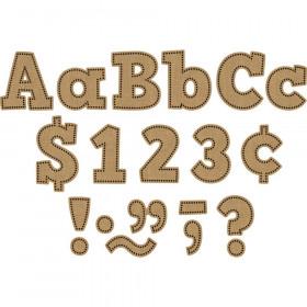 "Burlap Bold Block 4"" Letters Combo Pack"