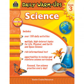 Daily Warm-Ups Science Book, Grade 3