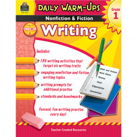 Daily Warm-Ups: Nonfiction & Fiction Writing (Gr. 1)