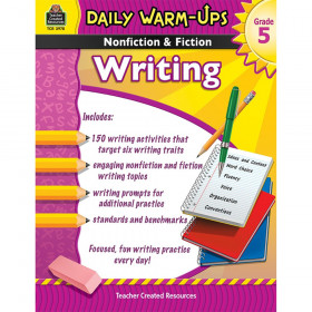 Daily Warm-Ups: Nonfiction & Fiction Writing Book, Grade 5