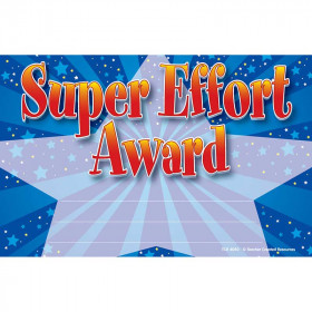 Super Effort Awards 25Pk 8-1/2 X 5-1/2