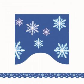 Snowflakes Border Trim, 35 Feet