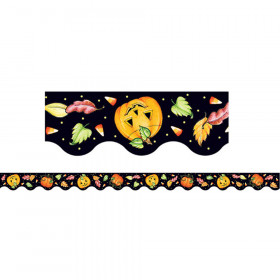 ME Halloween Scalloped Border Trim