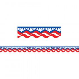 Patriotic Border Trim, 35 Feet