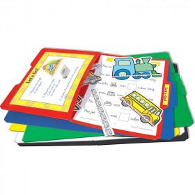 File Folders Stor-It Green 3-Pack