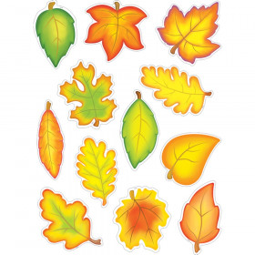 Fall Leaves Accents, Pack of 30