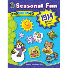 Seasonal Fun Sticker Book, Pack of 1514