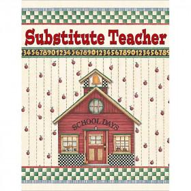 Dm Substitute Teacher Pocket Folder