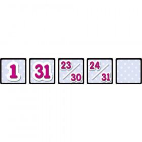 Black Polka Dots Calendar Day Mini Packs
