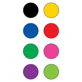 "Colorful Circles Mini Stickers, 3/8"" Diameter, Pack of 528"