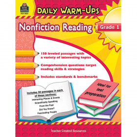 Daily Warm-Ups: Nonfiction Reading (Gr. 1)
