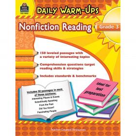 Daily Warm-Ups: Nonfiction Reading Book, Grade 3