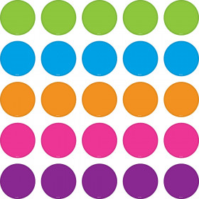 Bright Colors Circles Mini Accents