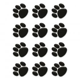 Black Paw Prints Mini Accents