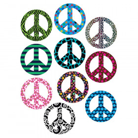 Fancy Peace Signs Accents