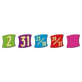 Wacky Squares Calendar Days