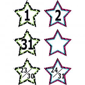 Fancy Stars Calendar Days