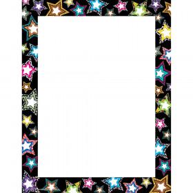 Fancy Stars Computer Paper