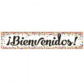 Confetti Bienvenidos (Spanish Welcome) Banner