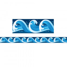 Ocean Waves Border Trim