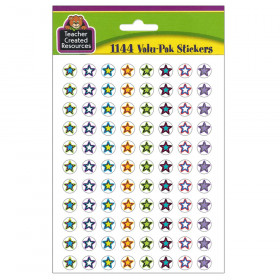 Fancy Stars 2 Mini Stickers Valu-Pak