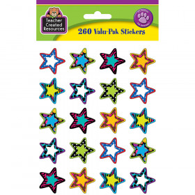 Fancy Stars 2 Stickers Valu-Pak